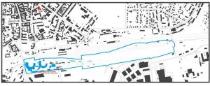 parowozownia Gniezna - mapa